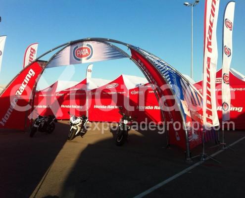 expoarch Honda Racing