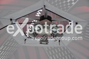 LED Licht Expodome