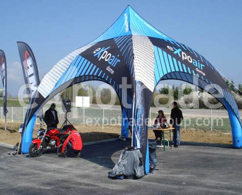 expoair pneumatique Dometent 6x6m