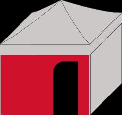 Standard mit Türe