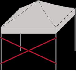 Verbindungsstange diagonal