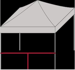 Verbindungsstange horizontal