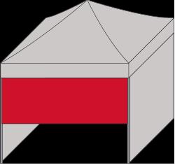 Seitenwand halbhoch Oberteil