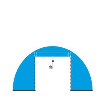 expoair Seitenwand Standard mit Türe