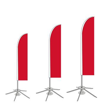 expoflag 4 m / 5 m / 6 m Stange