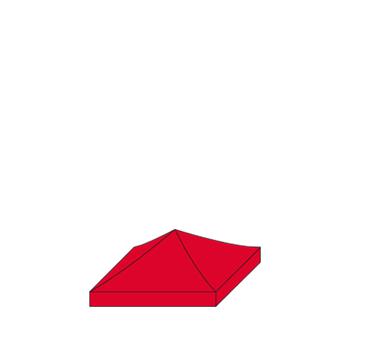 expotent premium 2,50 x 2,50 m Dach