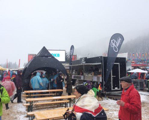 Biathlon Hochfilzen 3x3m Dome