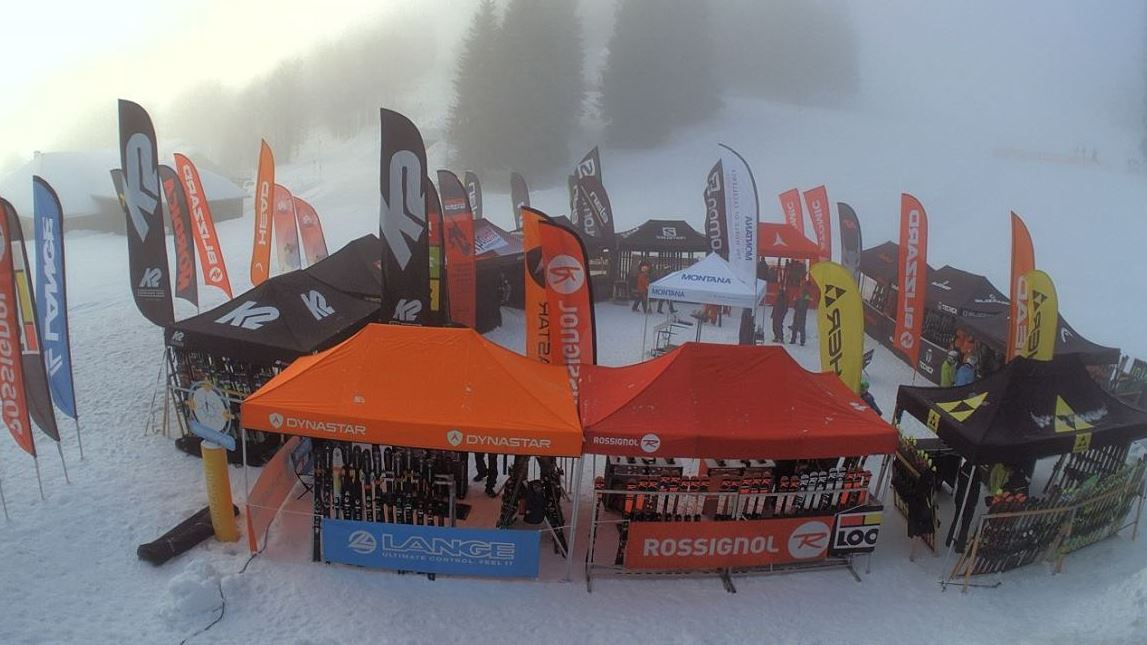 All on Snow Tour Expotent Faltzelte