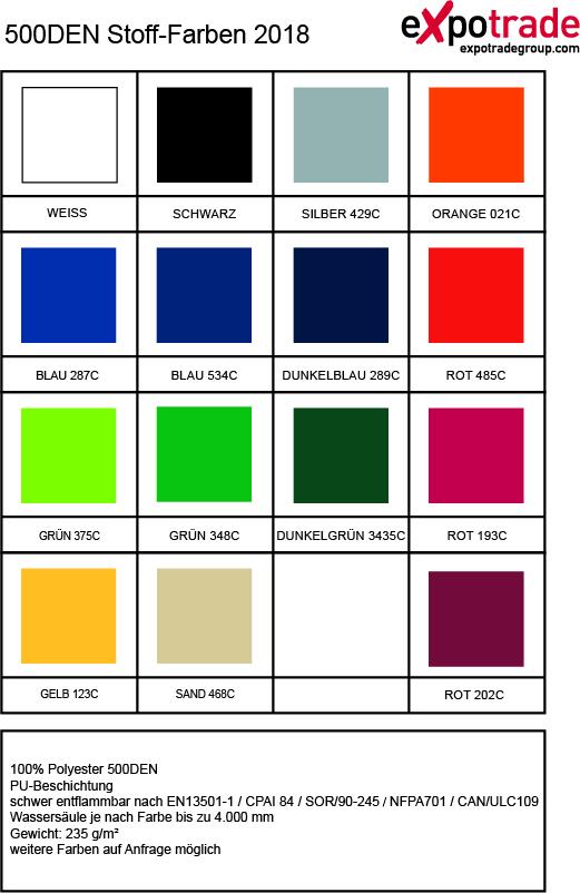 Expotrade 500DEN Farben
