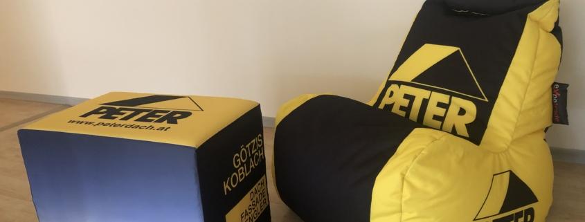 exporelax Sitzsack Dach Peter