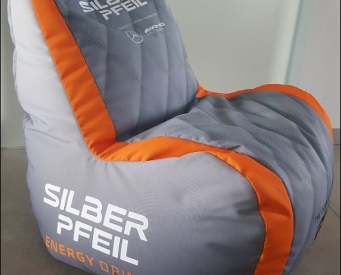 exporelax Sitzsack Silberpfeil