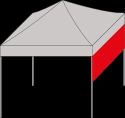 Faltzelt expotent Vordach Sonnenschutz