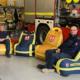 Sitzsäcke Feuerwache Rettungswache